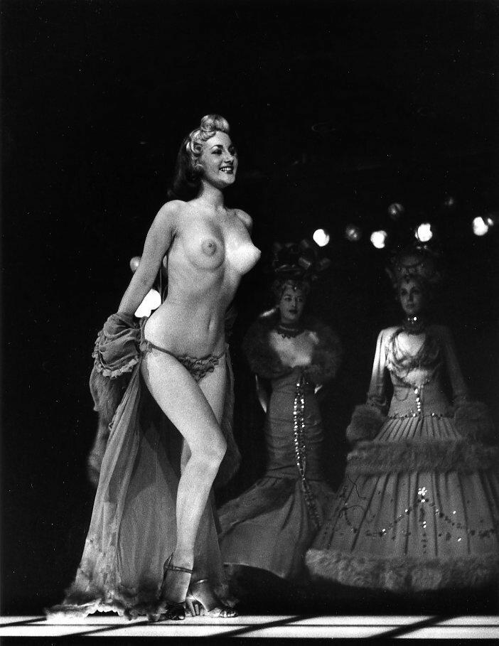 1956. Мюзик-холл, Лондон
