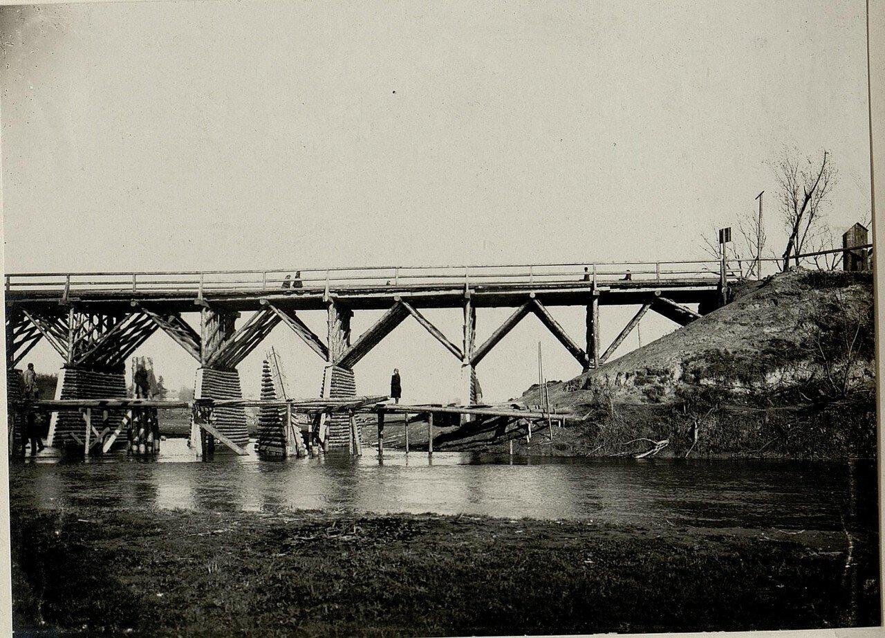 Деревянный мост через Стрый