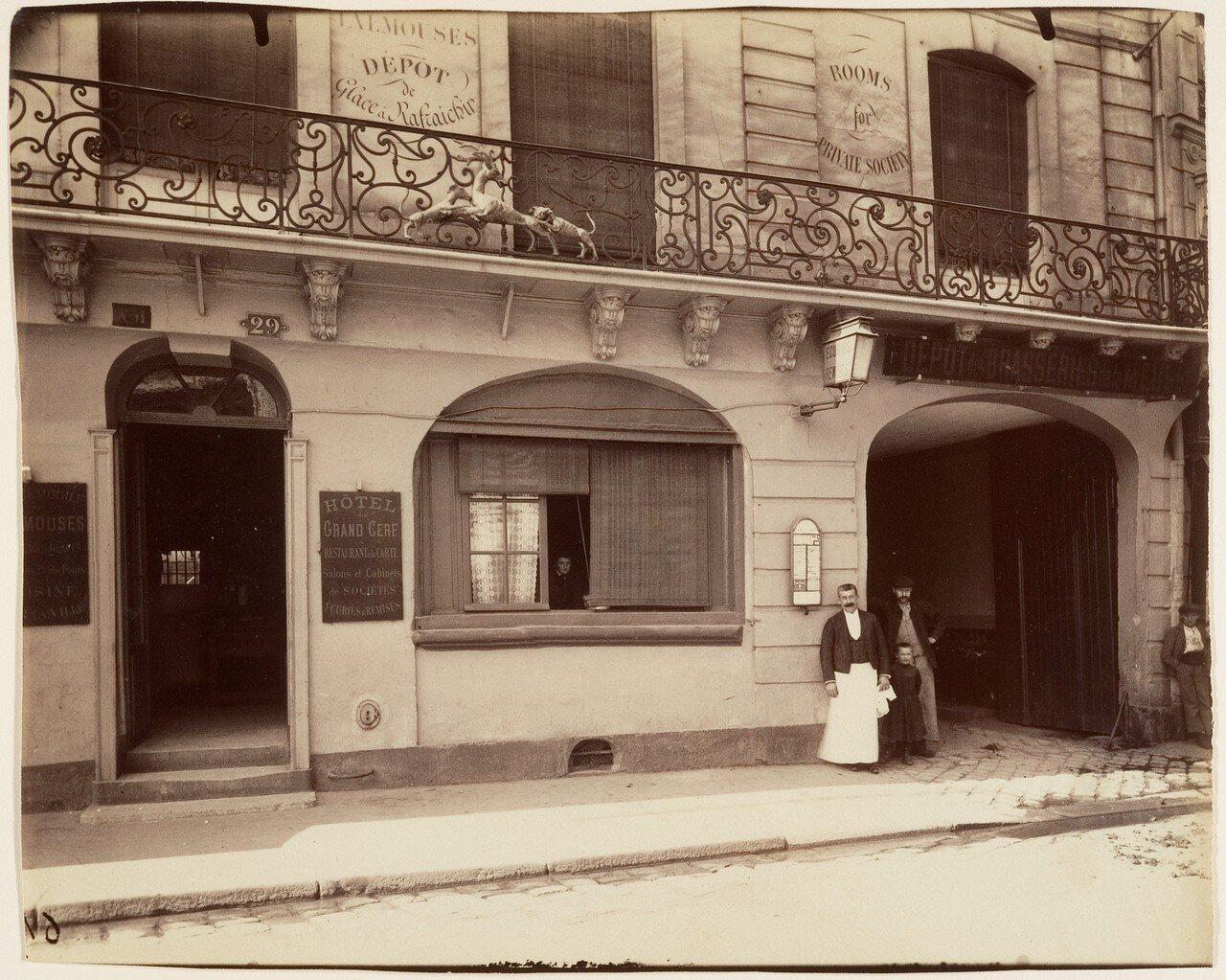 1900. Сен-Дени.  Отель Дю Гран Сёрф