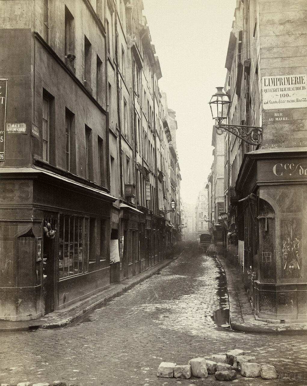 Рю Бобур. 1866