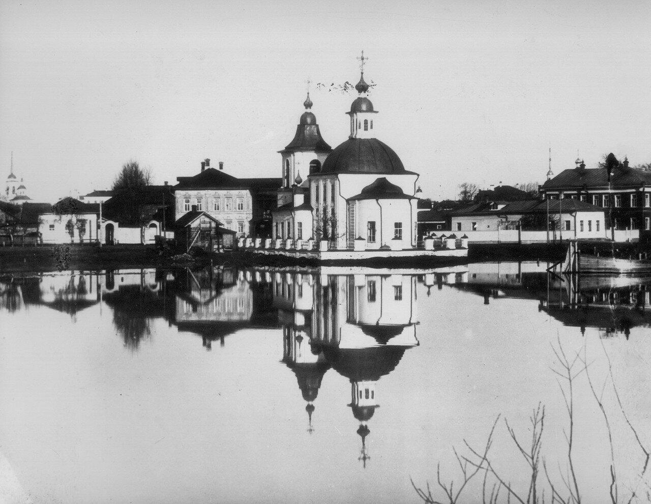 Церковь Рождества Пресвятой Богородицы на Нижнем долу. 1901