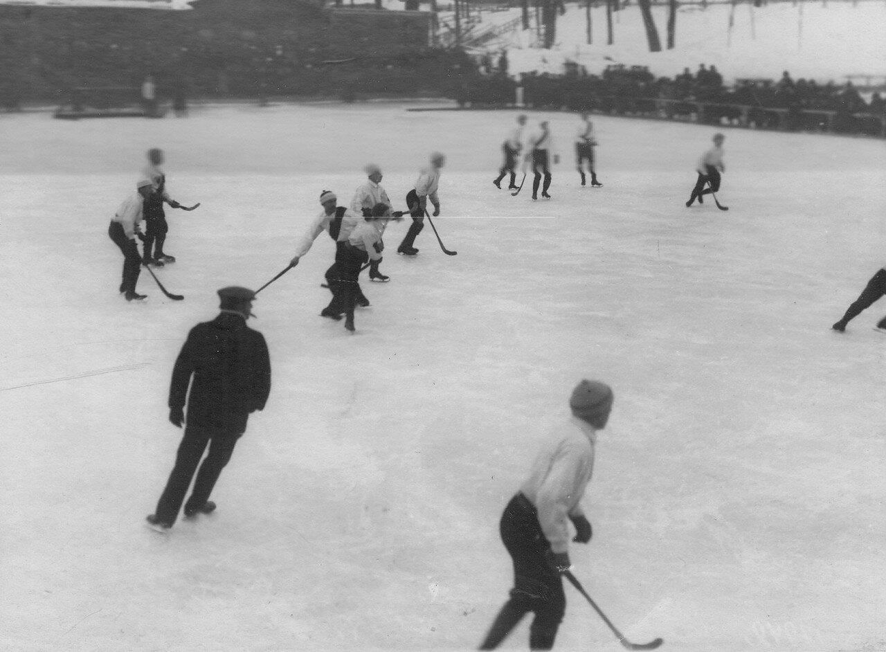 16. Состязания хоккеистов в Юсуповом саду. 17 февраля 1913