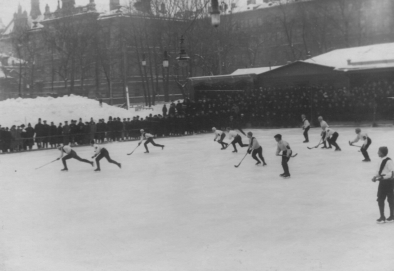 17. Состязания хоккеистов в Юсуповом саду. 17 февраля 1913