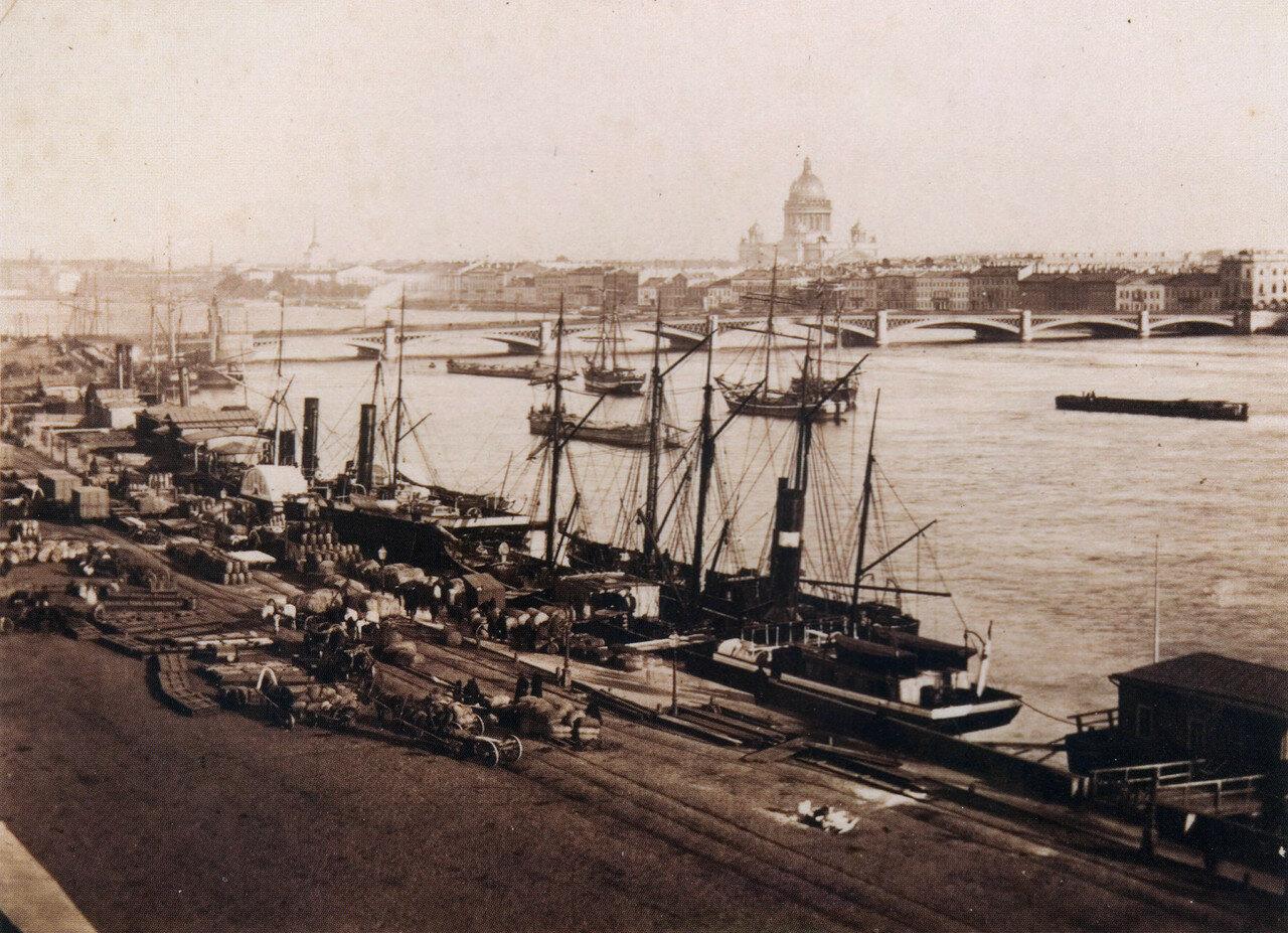 Николаевский мост. 1860-е