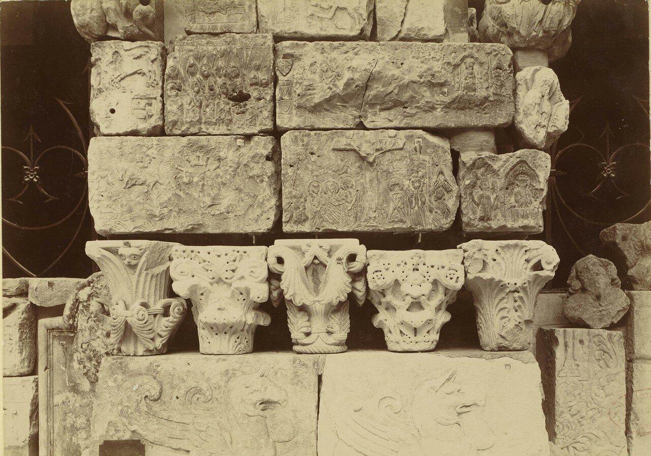 1886. 10. Христианские рисунки на камнях