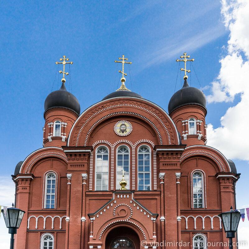 Вознесенский собор Крестовоздвиженского Иерусалимского монастыря