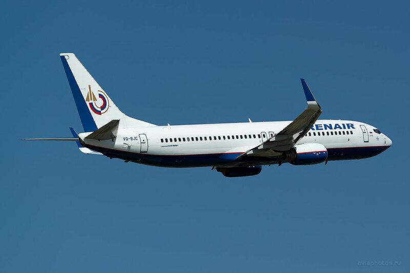 Boeing 737-8K5 (VQ-BJC) Orenair D809487
