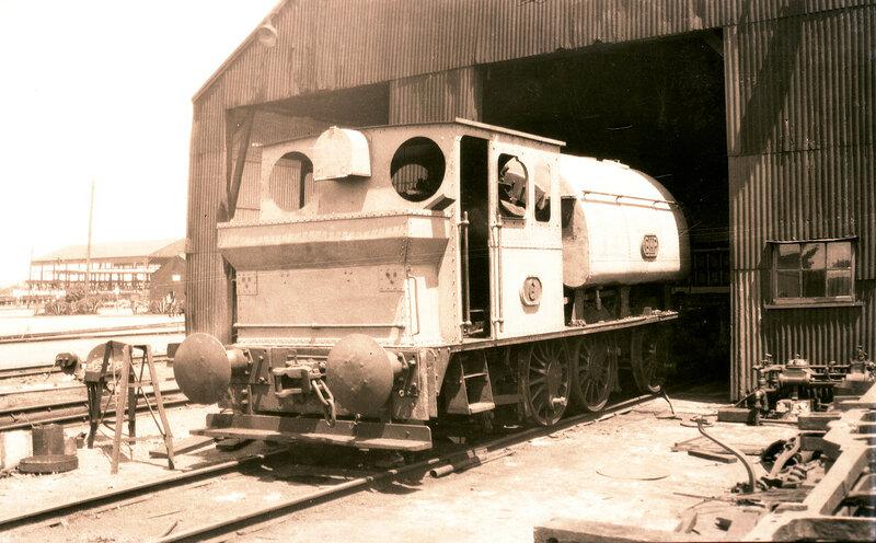 BHP Steam locomotive Number 6, Newcastle, NSW, [n.d.]