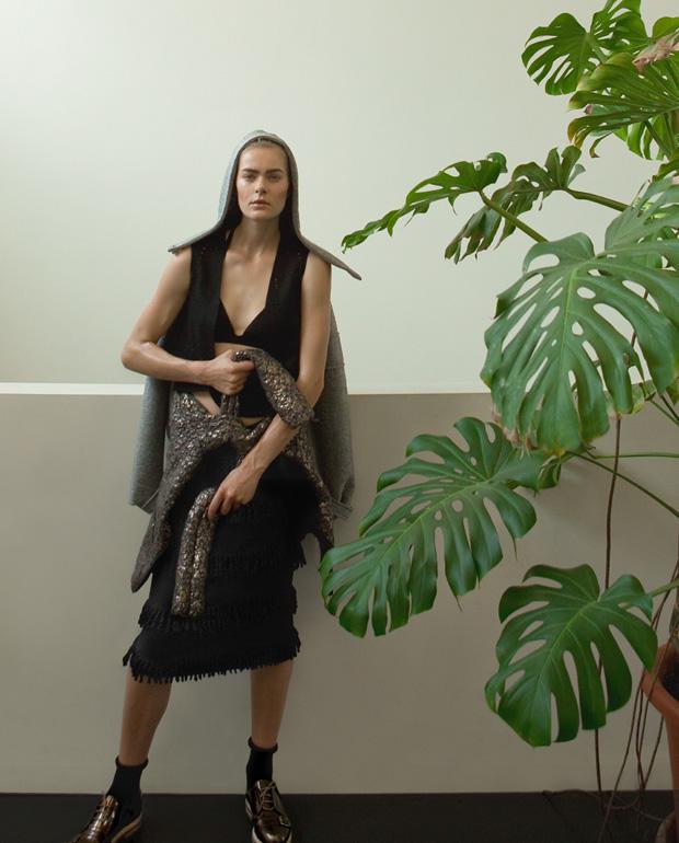 Джесс Голд (Jess Gold) в журнале Madame