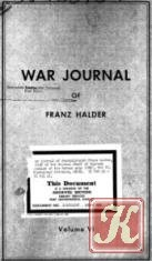 Книга War Journal of Franz Halder. Volume VI