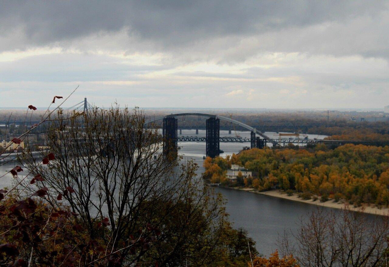 Новый мост через Днепр