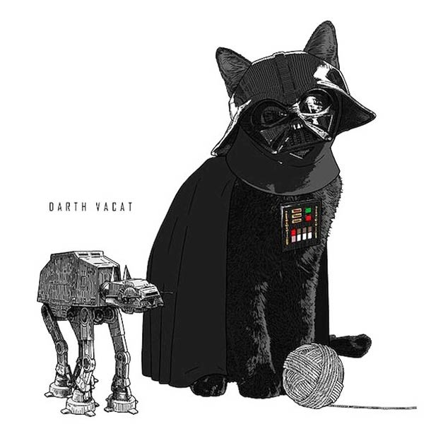 Iconic Cats - Les icones de la Pop Culture version chats…
