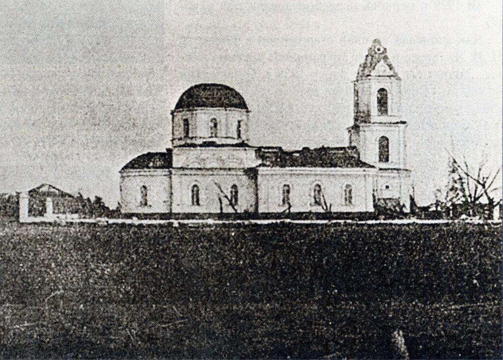 68658 Капотня после урагана. Вид Рождественской церкви М.И. Грибов.jpg