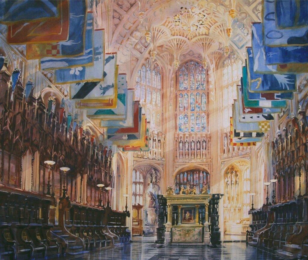 Вестминстерское аббатство, Генрих VII Часовня Леди. Александр Кресуэлл