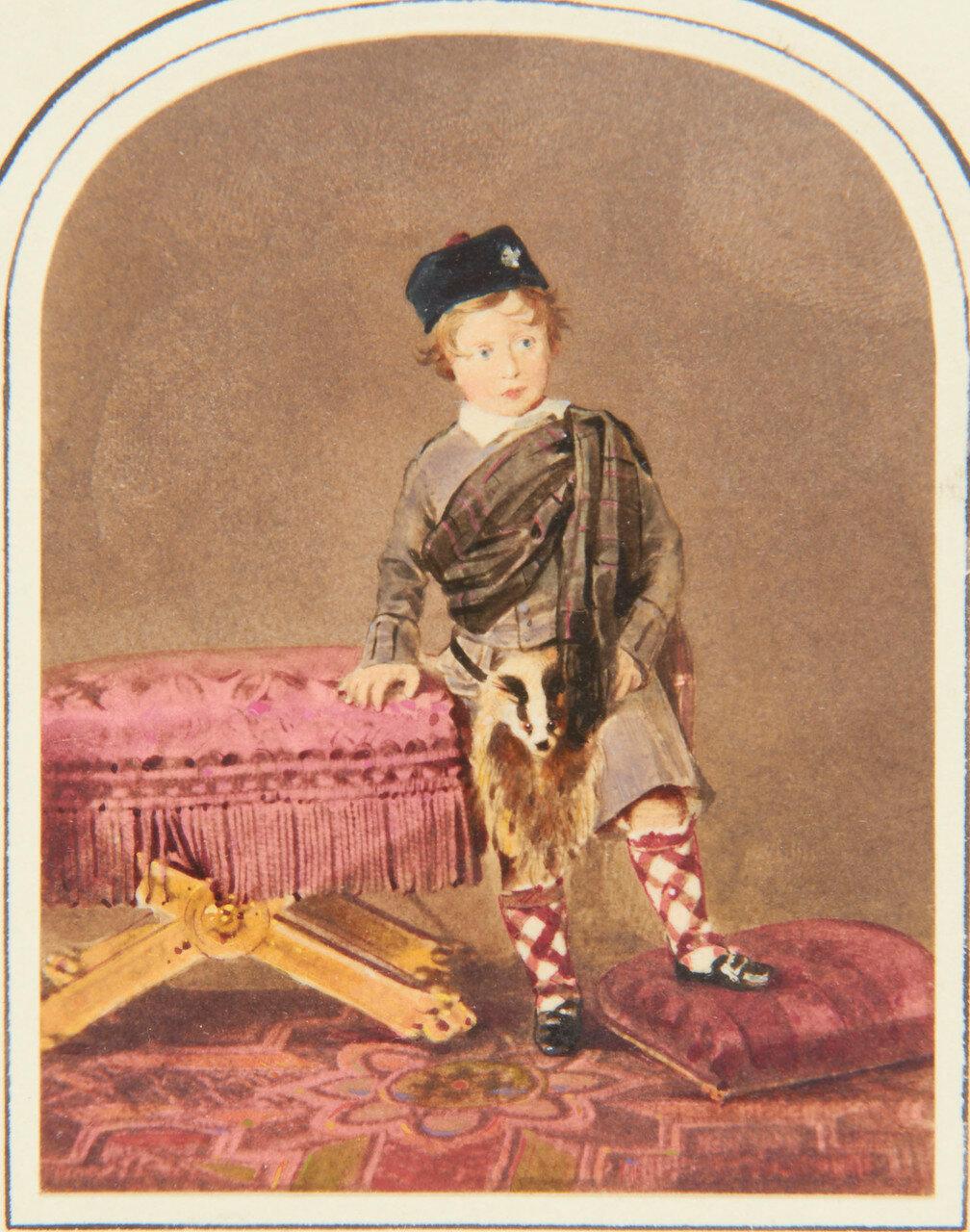 1848. Принц Альфред Саксен-Кобург-Готский (1844-1900). октябрь