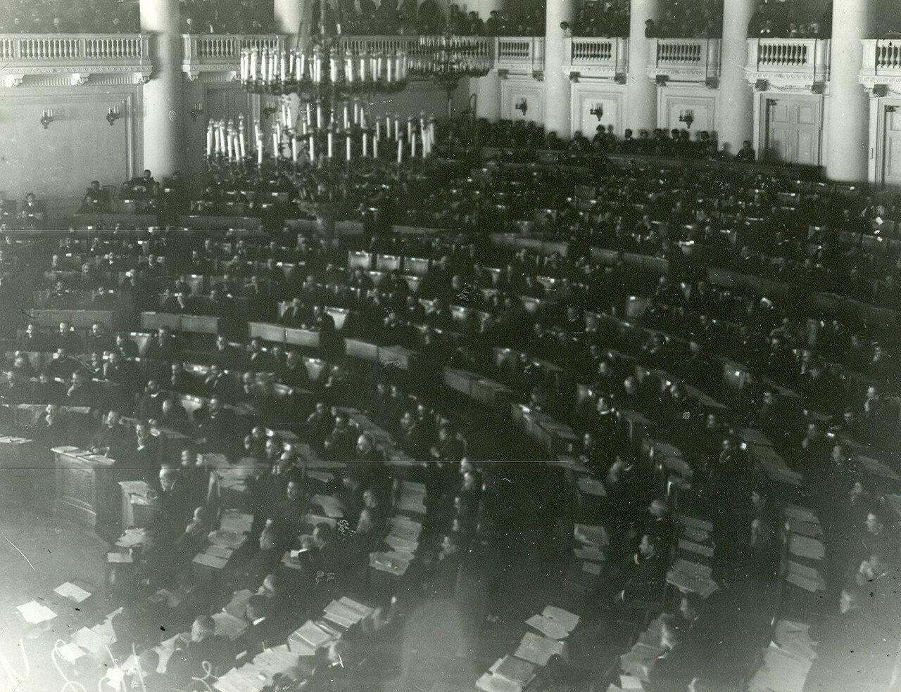Заседание Первой Государственной думы в зале заседаний Таврического дворца