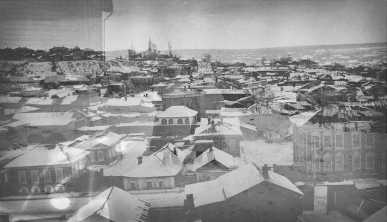 Вид на город Бьёрна Аминова