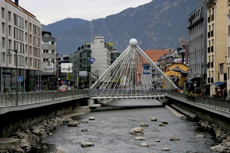 Мост над Валирой, Андорра,