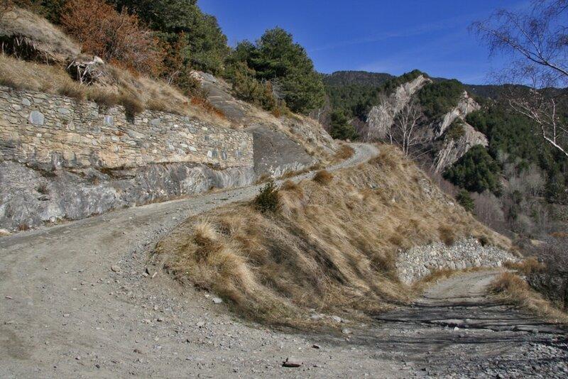 Горная дорога, Ордино