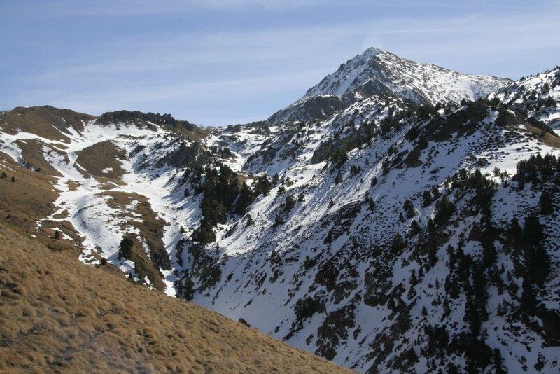 Андорра, Энкамп, горные вершины