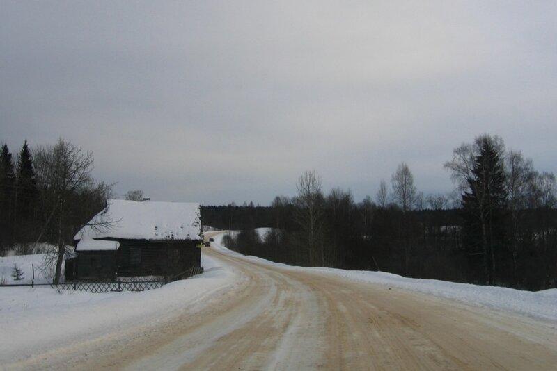 Деревня неподалеку от Селигера