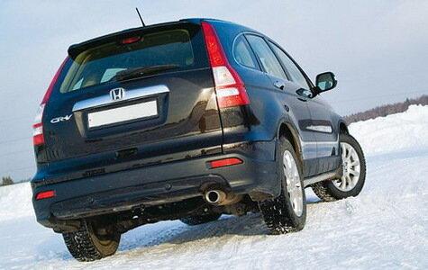 Новая Honda CR-V c 2.4-литровым 166-сильным двигателем