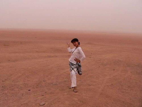 пустыня и я