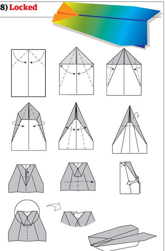 Смотреть как сделать из бумаги самолеты