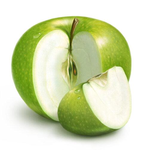 В яблочко