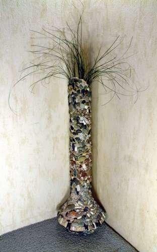 Напольные вазы мастер класс 51
