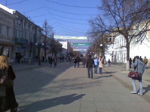 Василий Бочкарев отметил, что можно Пенза. Улица Московская в