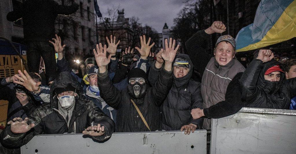 Зима без Майдана   не зима. Психическая агония свидомых