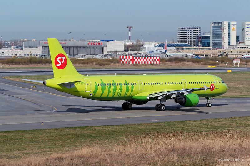 Airbus A321-211 (VQ-BQK) S7 D804369