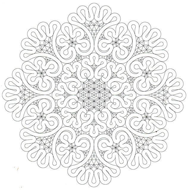 Раскраска вологодские кружева