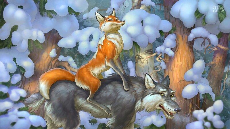волк и лиса сказка крупу приготовлению рассыпчатой