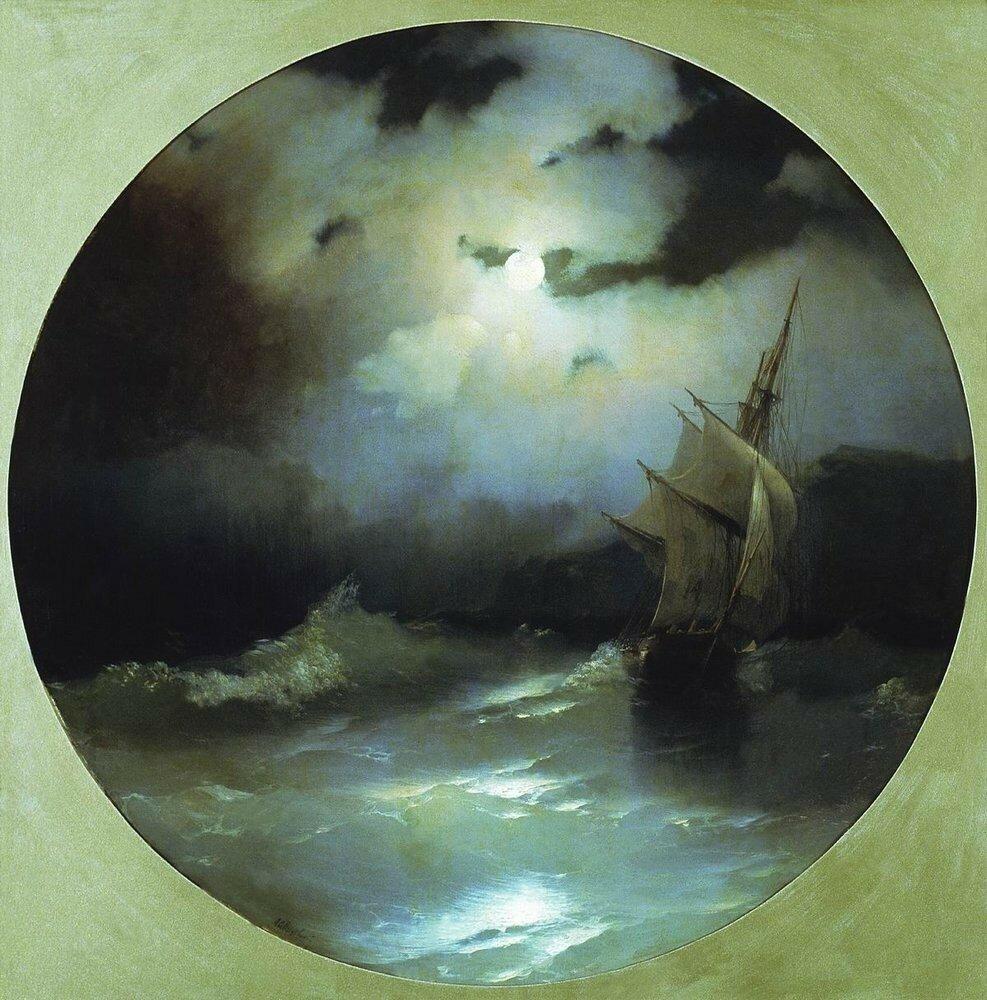 Море в лунную ночь. 1858.jpg