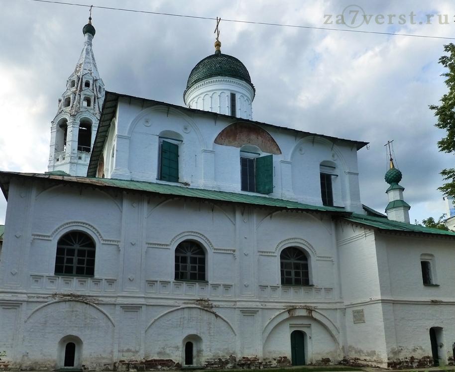 Церквь Николы Надеина в Ярославле