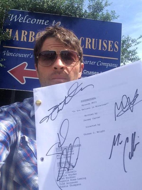 #TCA14 Винчестеры начеку, а Миша Коллинз продает сценарий