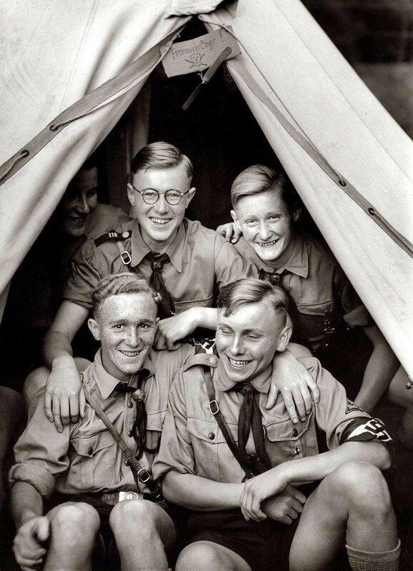 Веселые парни из гитлерюгенда (1938 год)