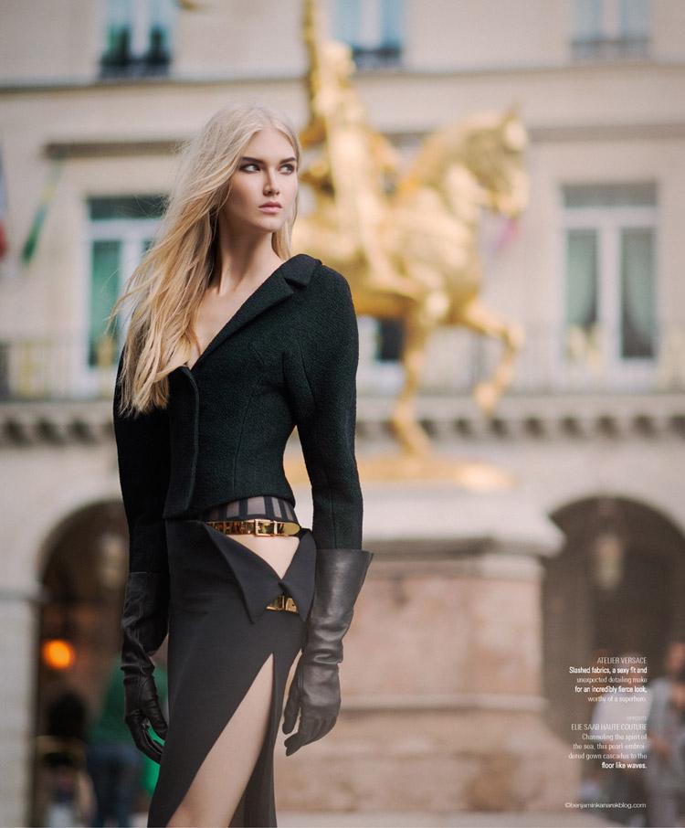 Анна Мартынова (Anna Martynova) в журнале S/Style & Fashion