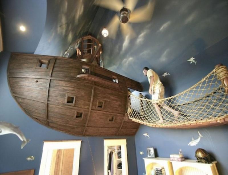 Космическая спальня