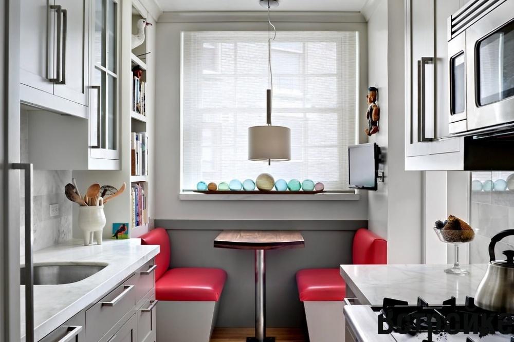 Крошечные кухни без излишеств