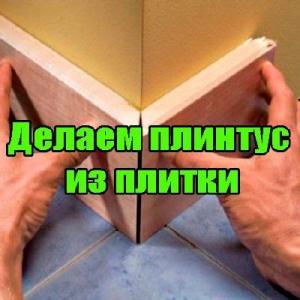 Книга Делаем плинтус из плитки (2014) DVDRip