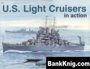 Книга Squadron-Signal Warships In Action 4012 - US Light Cruisers in Action rar 10Мб