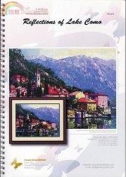 Журнал I love cross stitch Reflections of Lake Como H 003
