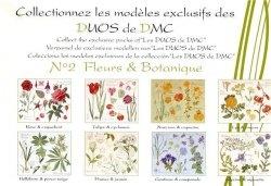 Журнал DMC 14561 Les Duos - Fleurs & botanique