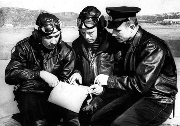 Юрий Гагарин - летчик 769-го истребительного авиационного полка