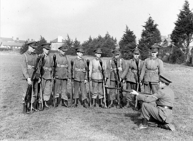 Курс молодого бойца в ирландской армии.