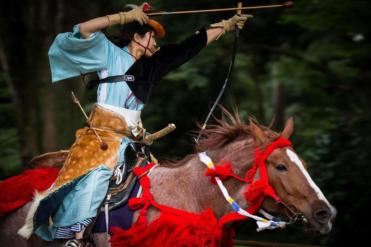 Стреляем из лука на полном скаку: Потомки японских самураев (15)