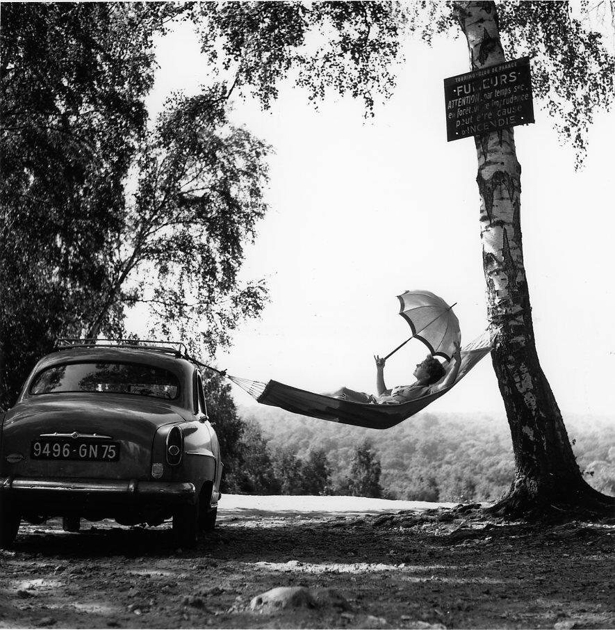 1959. Полетт Дюбо позирует для Симки